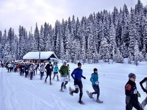 The Blitz Snowshoe Fun Run & Walk at Lake Louise