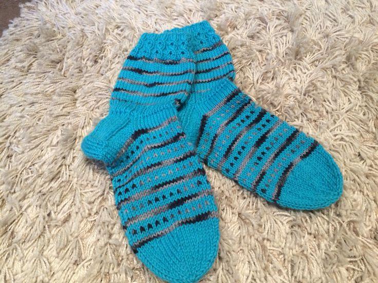 Diy, villasukat, woolsocks, knitting