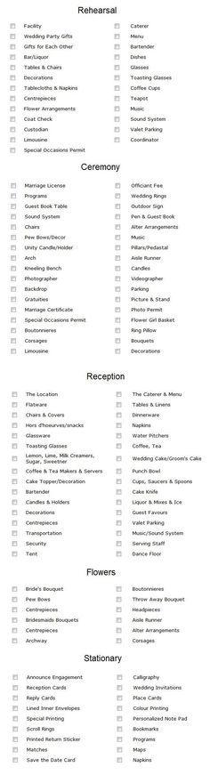 Best  Wedding Planning Checklist Ideas On   Wedding