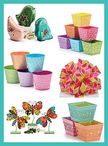 "In the January 2015 issue of @FloristsReview, some of our spring products were featured in a ""Style Trends 2015"" article for our garden harmonies, bold graphics, and pattern on pattern designs! #burtonandburton #inthespotlight #spring"