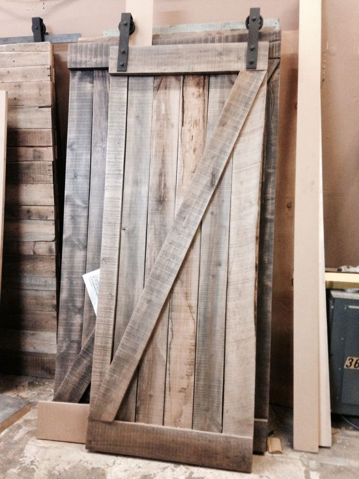 113 best images about interior sliding barn doors on for Natural wood doors interior