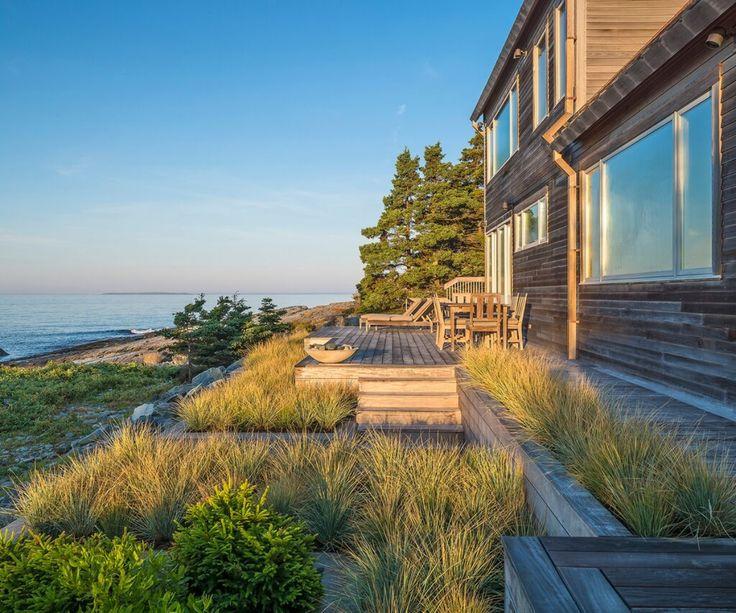 Acadia Point Landscape Project | Virginia Burt Designs