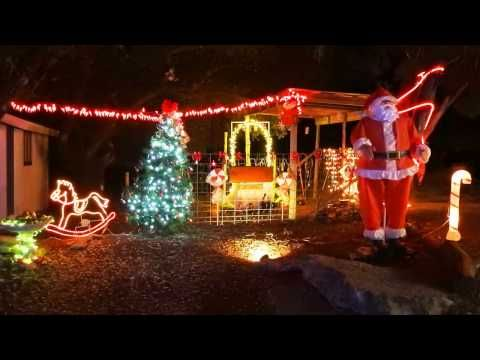 The EmilyAnn Theatre & Gardens, Wimberley, Texas - Trail of Lights in Central Texas