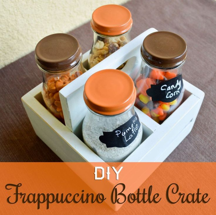 About a year ago, my wife asked me to make crates to hold Frappuccino bottles.  She wanted to fill the bottles with treats (candy, hot chocolate, etc . . .) and…