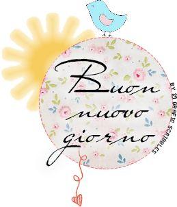 Buon nuovo giorno ♥ Free Clipart http://graficscribbles.blogspot.it/2014/05/clipart-bungiorno-saluti.html
