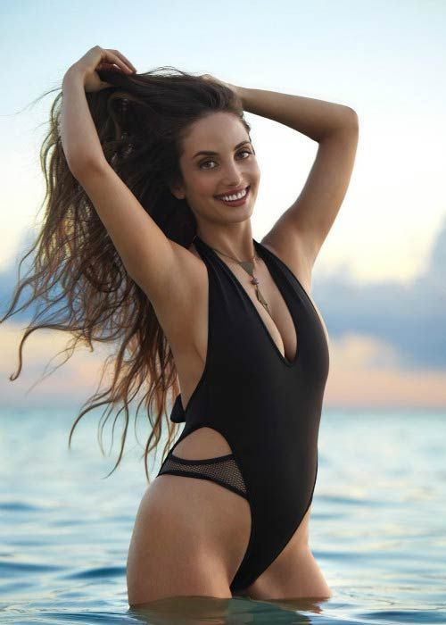 Alexa Ray Joel during the Sports Illustrated Swimsuit Edition 2017 photoshoot...