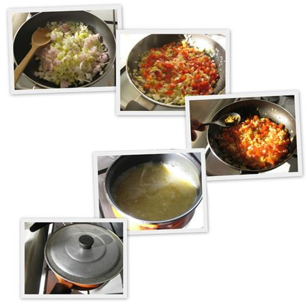 Cous cous con verduras al curry - facilísimo!