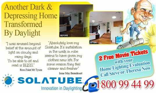 Aussie Installers Solatube Special offer