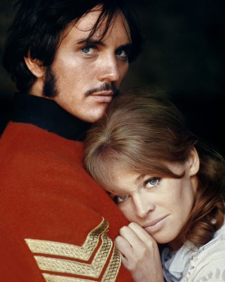 Terence Stamp and Julie Christie --  Far From The Madding Crowd.  There are very few things in the world as beautiful as Terence Stamp is in this movie.