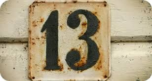 Image result for number 13 tattoos