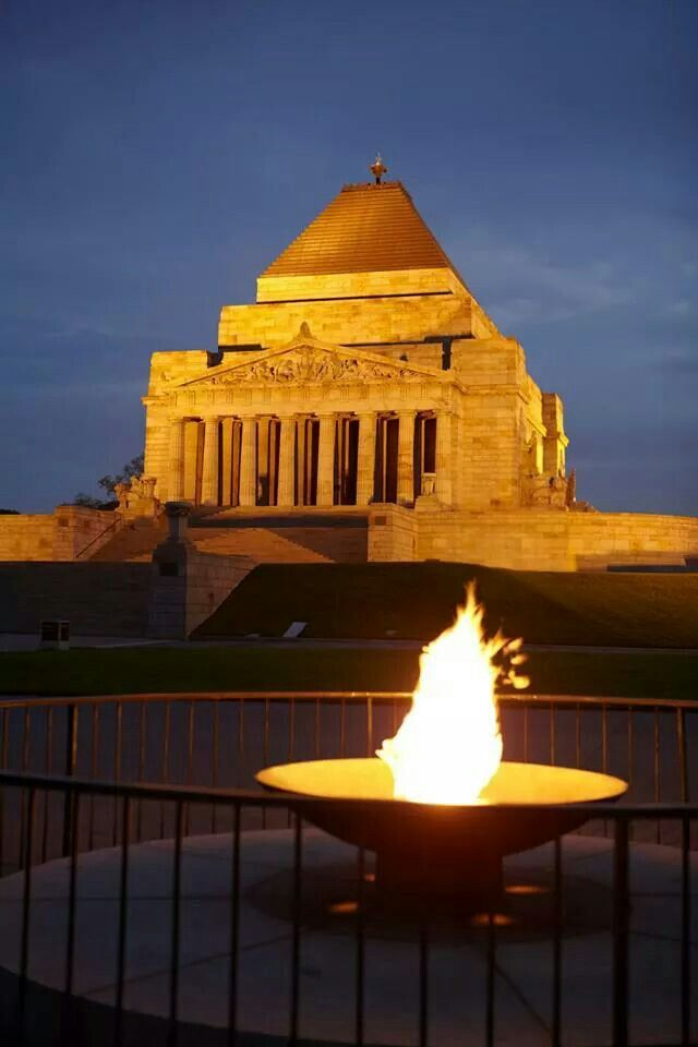 The Shrine of Remembrance, Melbourne, Australia