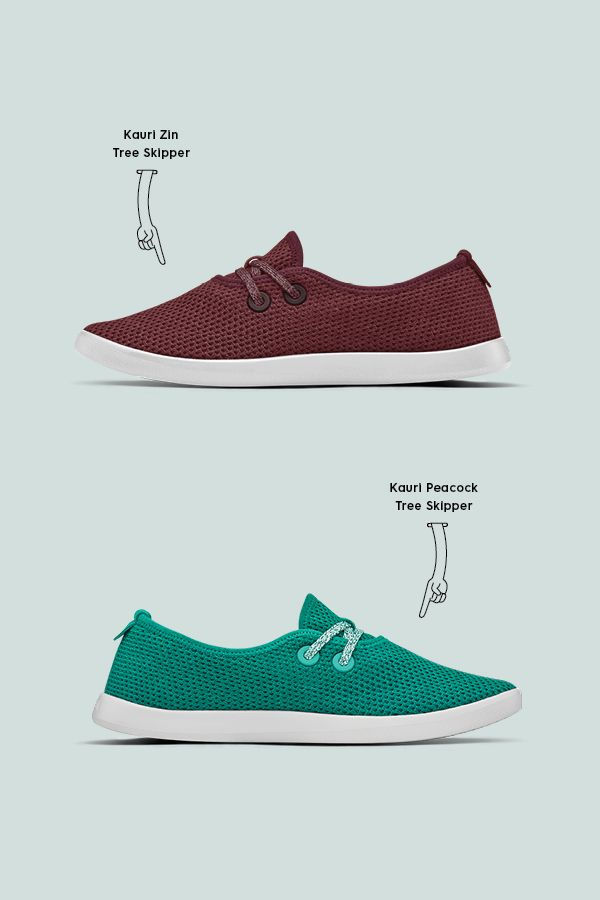 46f32bdb1ca44 Need help picking the right color pair of Allbirds shoes for you  Here s  the difference in color and style between our limited edition Kauri Zin  Tree ...