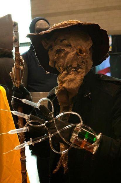 "Como fazer traje ""Scarecrow"" do Batman por SpicyPandaCreations"
