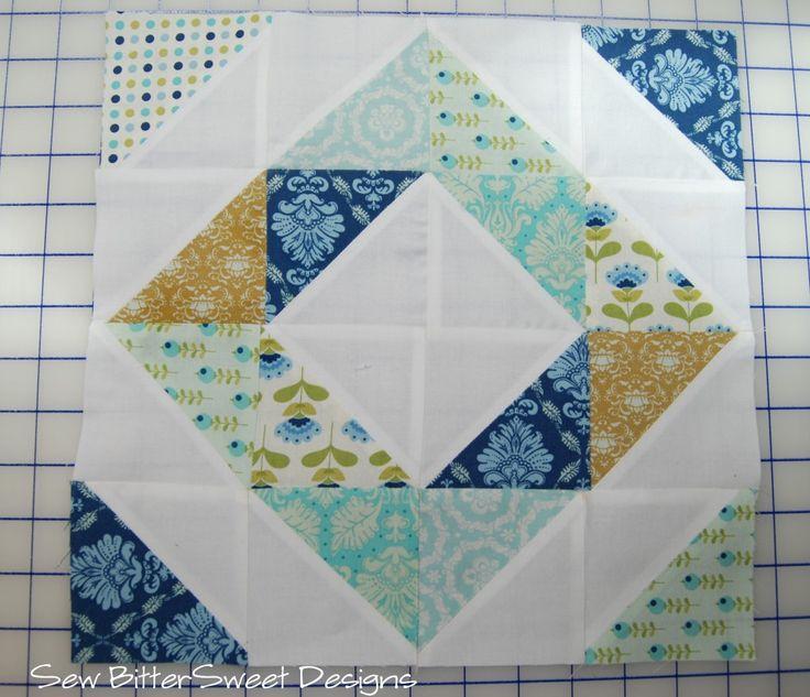 Melissa @Sarah Chintomby Mandell White BitterSweet Designs. Sweet little quilt block :)