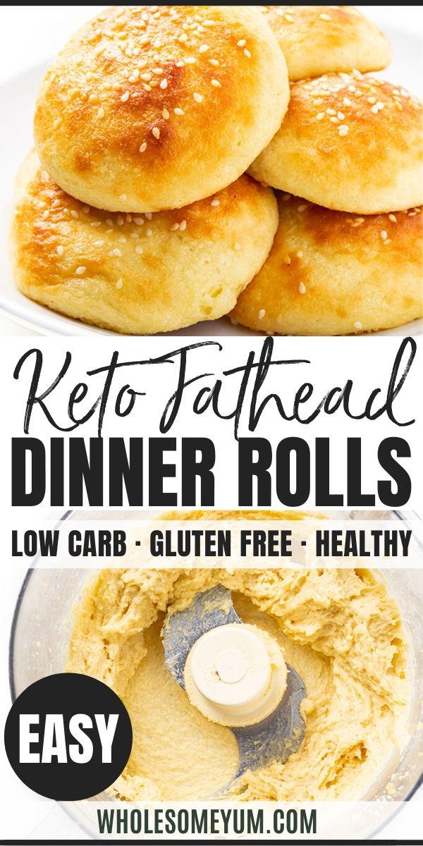 Fathead Keto Dinner Rolls Recipe Keto Bread Rolls In 2020 Dinner Rolls Dinner Rolls Recipe Low Carb Diet Recipes