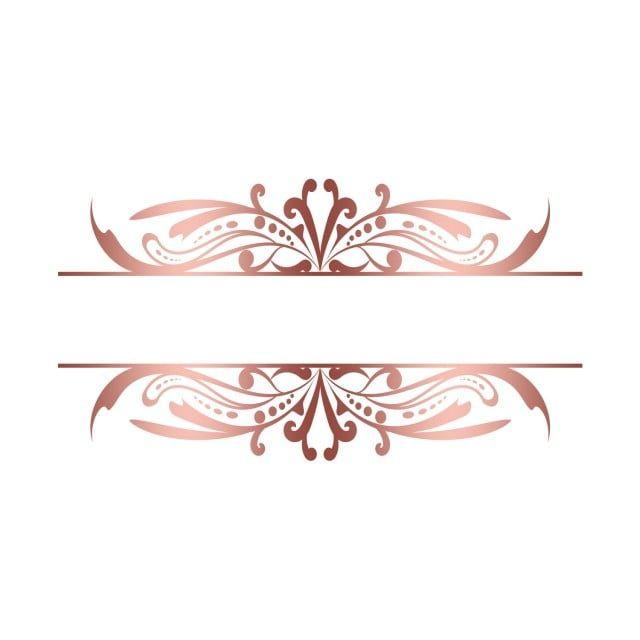 Fond Transparent Or Rose Cadre Vintage Png Or Cadre Dore Cadre Vintage Fichier Png Et Psd Pour Le Telechargement Libre In 2020 Royal Frame Vintage Frames Gold Clipart