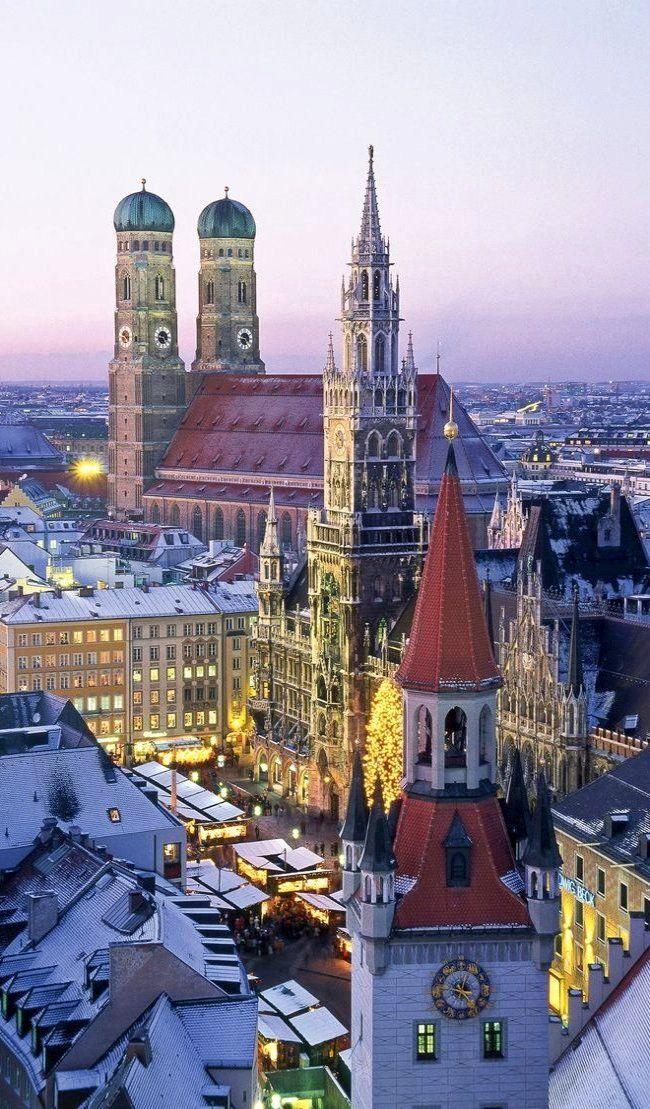The Marienplatz ~ Munich, Germany