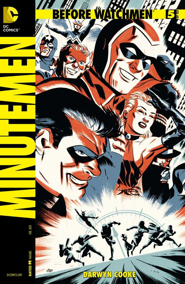 Before Watchmen: Minutemen #5 - The Minute of Truth, Chapter Five: The Demon Core; The Curse of the Crimson Corsair: Wide Were His Dragon Wings, Part Seven (Issue)