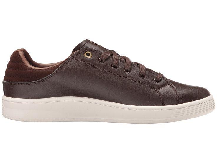 K-Swiss Quick Court Men's Tennis Shoes Chocolate/Mustang