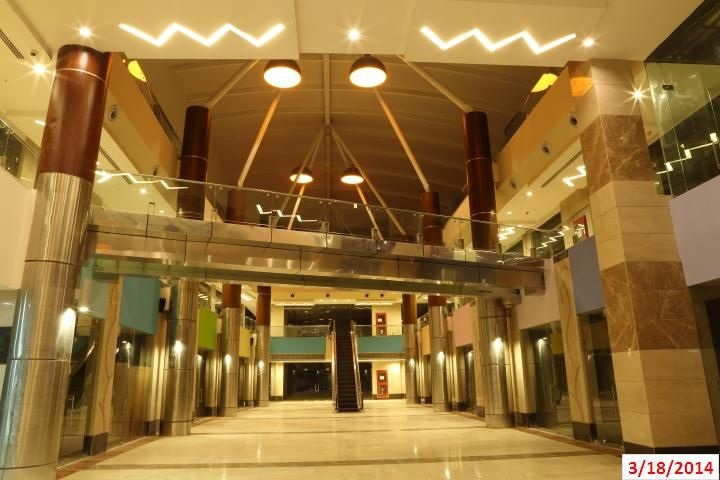 Floreal Towers: Interior View of retail space