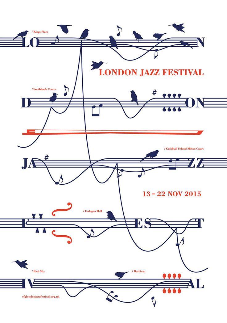 #poster #design #portfolio <London Jazz Festival 2015 ver.1>