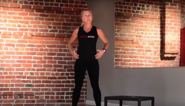 Box jumps are an amazing move for stronger legs. Shane Bernard shows you how to work up to one.