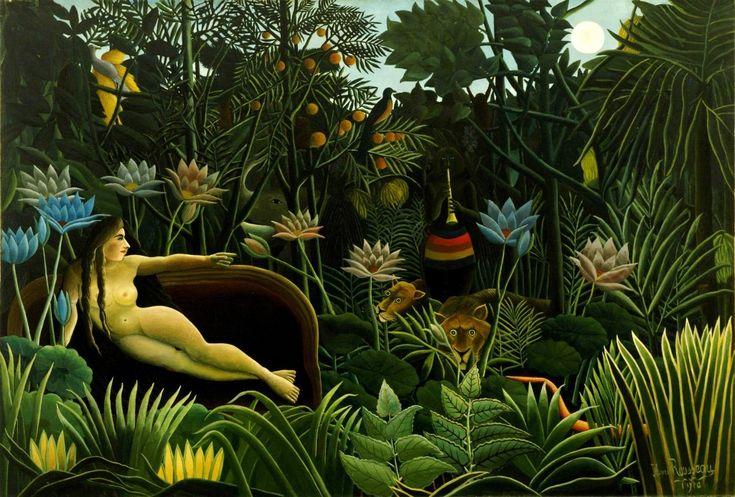 Il sogno, 1910 - Henri Rousseau.