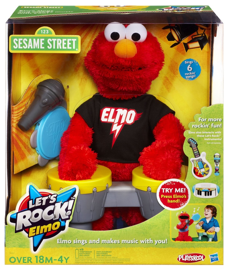 15 best elmo images on pinterest rock roll baby boy and business buy the hasbro sesame street playskool lets rock elmo from toysrus and rock out with elmo your kids will love taking the stage with elmo negle Choice Image