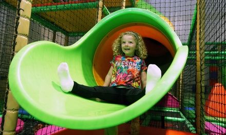 Two, three or four children can have fun and burn off their energy during a play session; includes a squash drink each