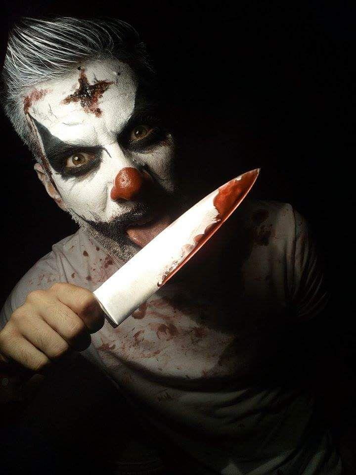 Assassin Clown, crazy scary makeup for Halloween! Pagliaccio assassino, il tuo trucco per la serata Halloween in pieno stile Gioventù Bruciata!