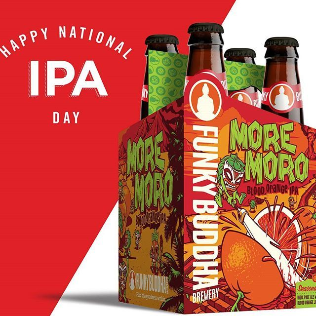 In honor of National IPA day, tell us your favorite citrus IPA!   http://thebrandit.com/#work-funky-buddha-brewery-1 #thebrandit #ipa #nationalipaday #beer #craftbeer #beerporn #craftbeerporn #hops #hoppy #westcoastipa #citrusipa