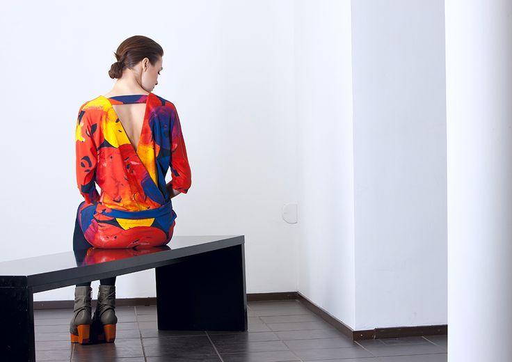 Värikäs dress / Nanso AW 2015