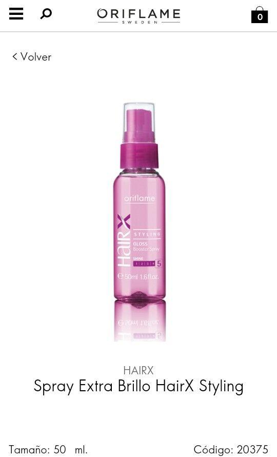 SPRAY EXTRA BRILlO  DESCRIPCIÓN SUAVIDAD Y BRILLO: Suaviza y da brillo a un cabello apagado de manera instantánea (81%*) a la vez que hidrata sin engrasar gracias a su complejo HairX Powershine. Proporciona vitalidad y brillo (79%*) haciéndolo más manejable. *Testado en 54 mujeres entre 18-45 años.