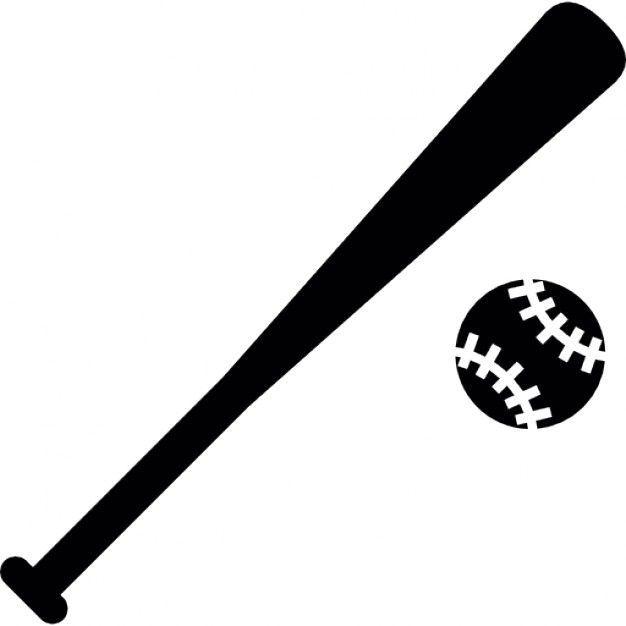 Baseball Bat Vector #baseballbats Baseball Baseball, Baseball