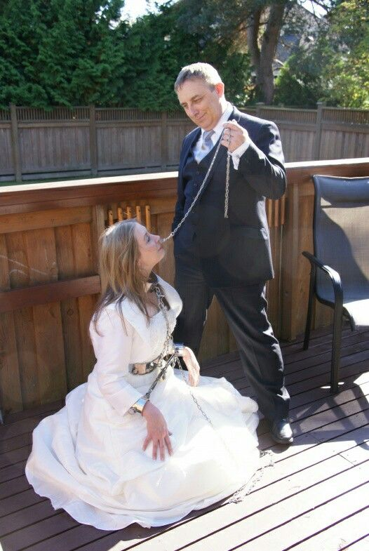 This Is A Daddys Slutty Girls True Place Steel Restraint In 2018 Pinterest Bride Kinky And Submissive