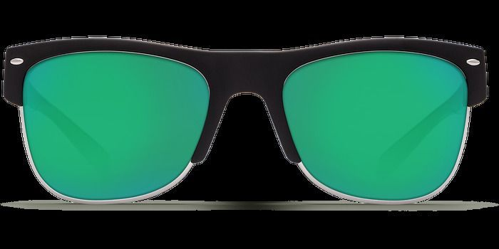 Costa Del Mar Fishing Sunglasses Pawleys Black Green Mirror 580G Polarize