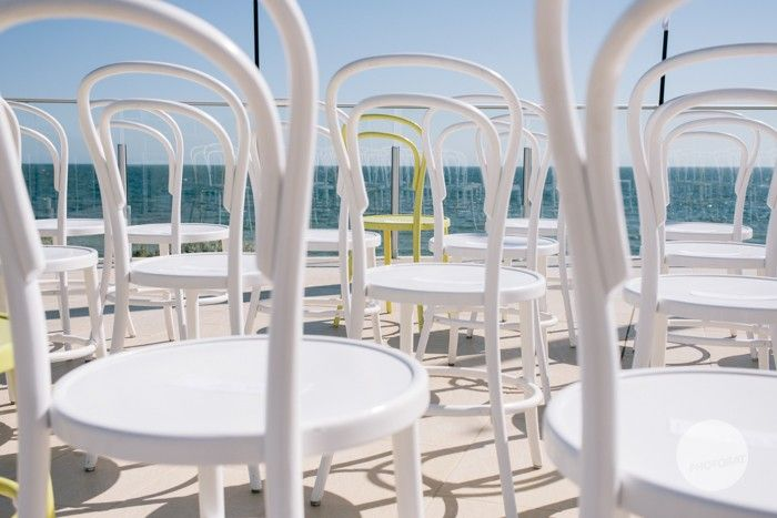 ideas, inspiration, sea, bayside Melbourne weddings are fantastic in the summer, yellow and white @Events at SYC
