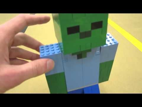 Make a Lego Zombie character - would make a good decoration to feature on party table and be lots of fun to build. ZaziNombies talks you through how he did it and what bricks will be needed to create figure.