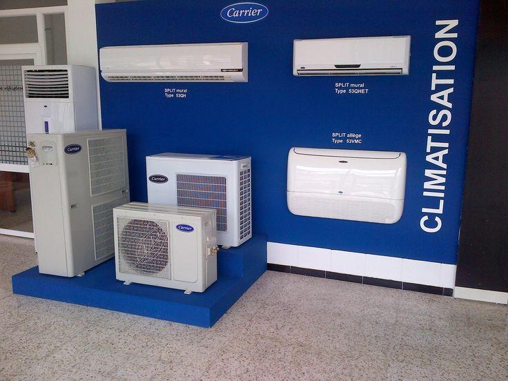 Show-room Unités de climatisation CARRIER Professionnels du froid