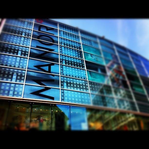 Department Store in Lugano, Ticino