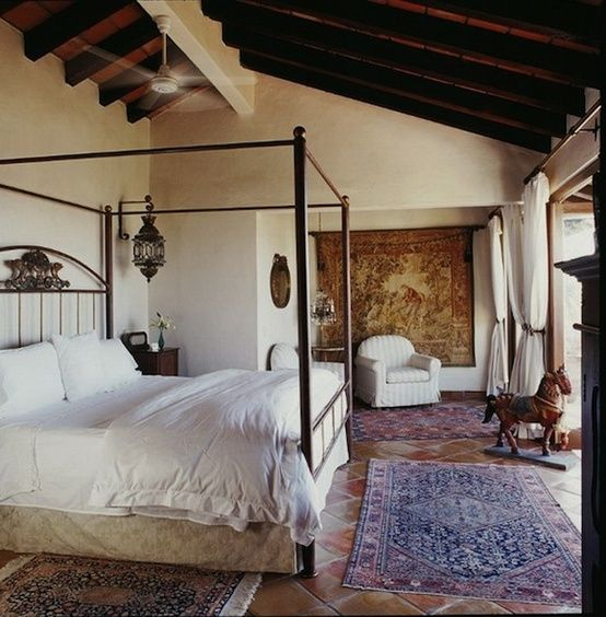 This Spacious Five Bedroom Spanish Mediterranean Style: Best 20+ Spanish Bedroom Ideas On Pinterest