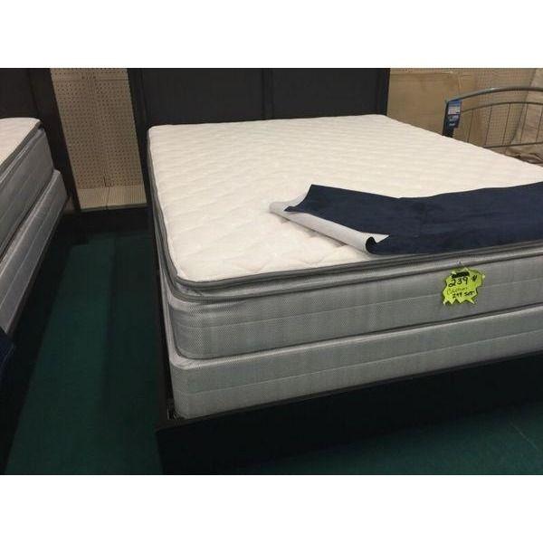 How do you fluff a pillow-top mattress?