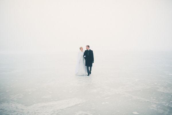 Winter Wedding | M&T by Jussi Hellsten, via Behance