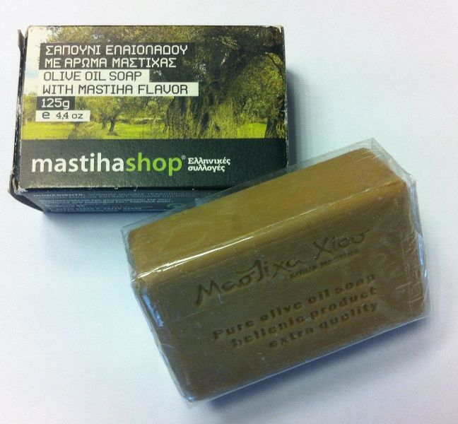 OLIVE OIL SOAP WITH MASTIHA FLAVOR 125 gr