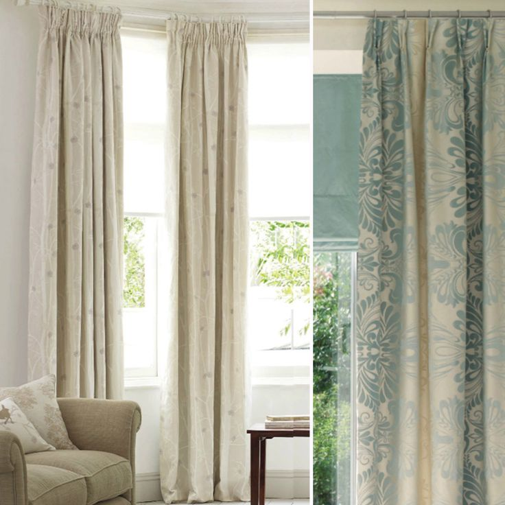 17 best images about cortinas on pinterest for Cortinas de tela para living
