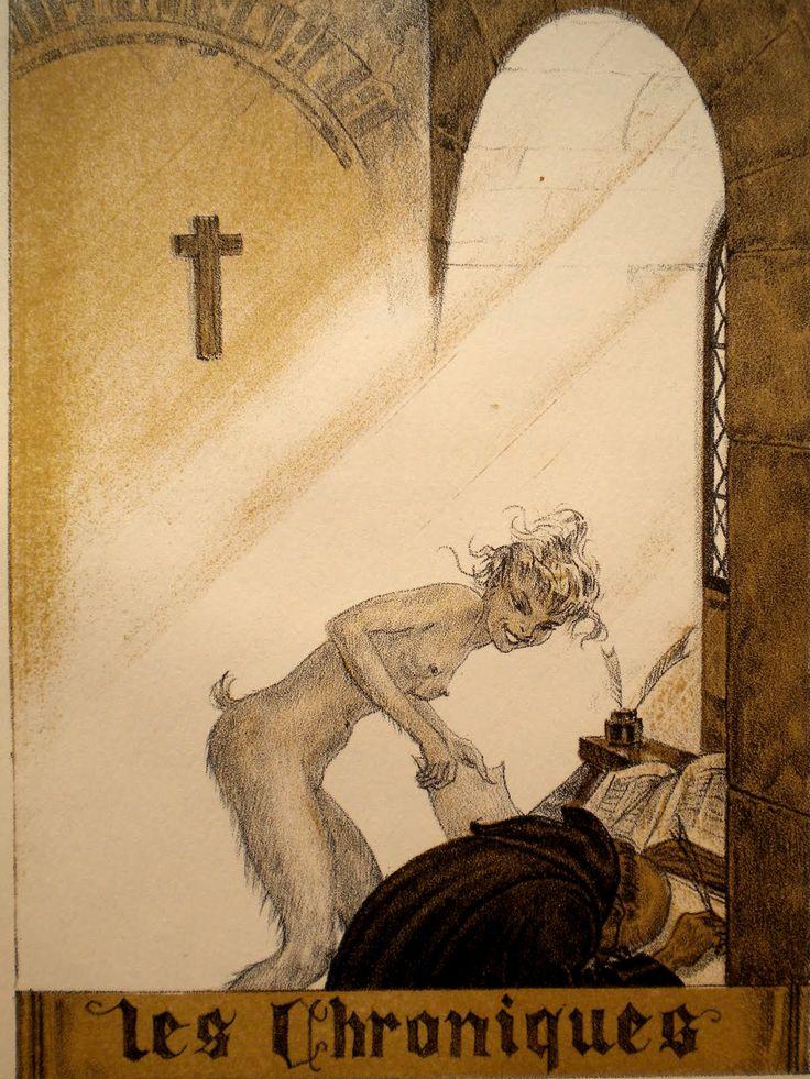 "Maurice Lalau (1881-1961), from ""Gaspard de la Nuit"" (Treasurer of the Night) by Aloysius Bertrand, 1943"