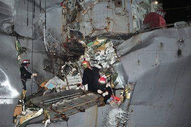 Mideast Strait of Hormuz Accident Tanker