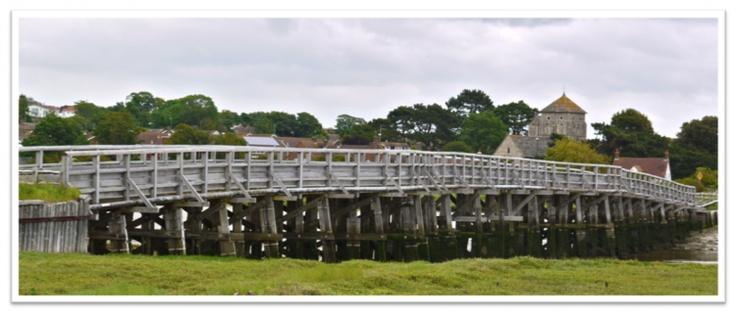 reconstructed Old Shoreham Tollbridge (from http://walkingforequilibrium.com/2012/06/12/shoreham-by-surreal/#)