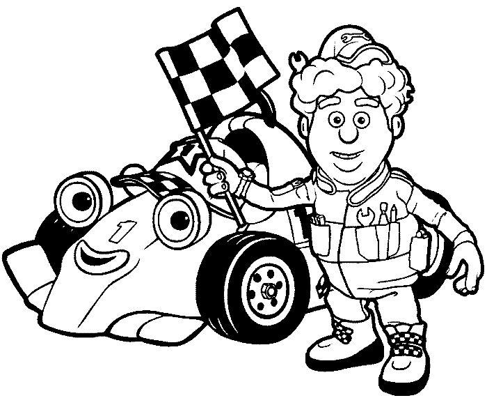 rennwagen ausmalbild - ausmalbilder für kinder | rennwagen