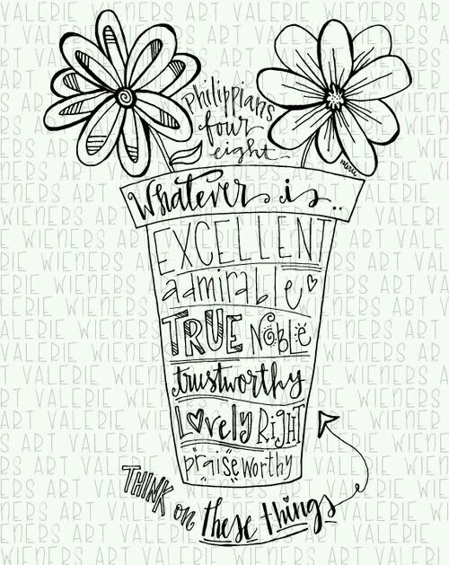 Philippians 4:8 - Versículo Bíblico